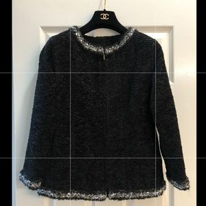 Brand New black CHANEL jacket with tags